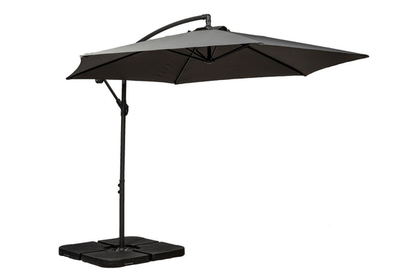 Grey 3m Standard Cantilever Powder Coated Parasol