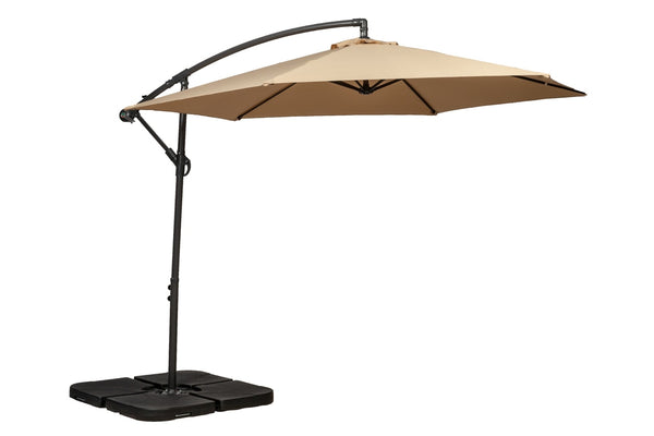 Sahara 3m Standard Cantilever Powder Coated Parasol