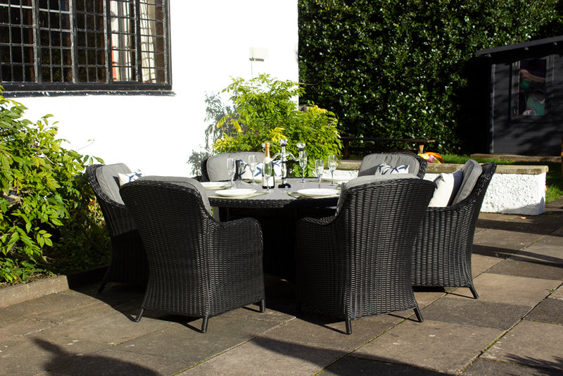 Onyx 6 Seater Dining Set