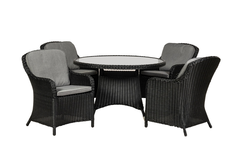 Onyx 4 Seater Dining Set