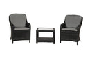 Onyx 2 Seater Companion Set