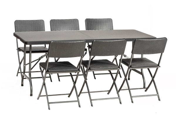 Palermo 6 Seat Rectangular Dining Set