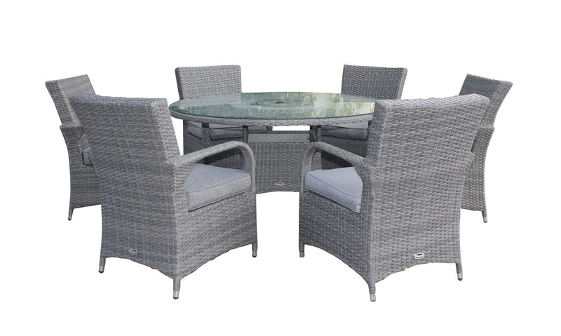 Parisian Deluxe 6 Seater Dining Set