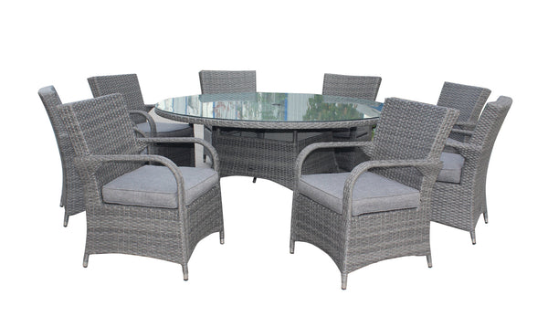 Parisian Deluxe 8 Seater Dining Set