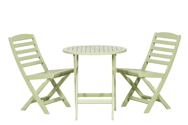 Porto Green 2 Seater Bistro Set