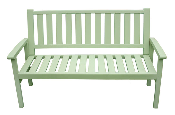Porto Homestead Green 3 Seater Bench