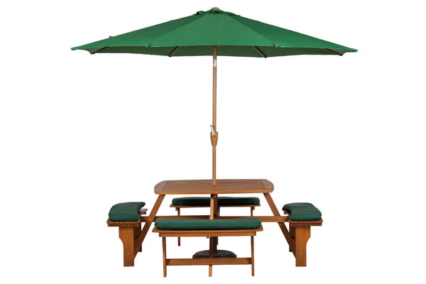 Sacramento 8 seater Picnic Bench with Cushions