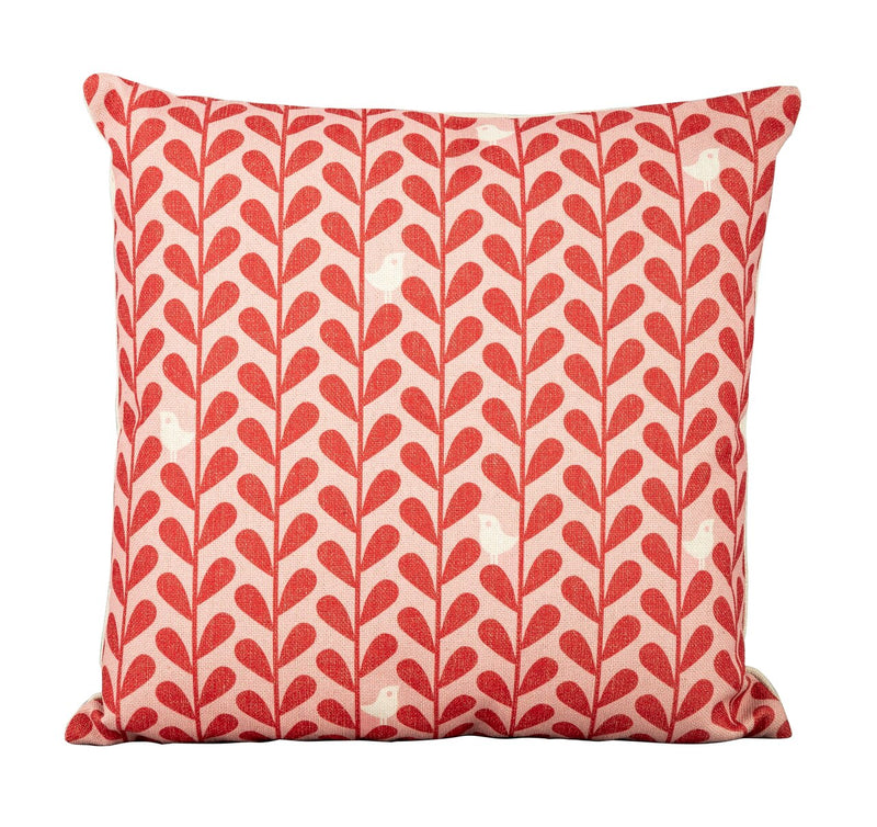 Red Birds Scatter Cushion
