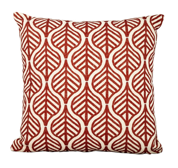 Red Leaf Scatter Cushion