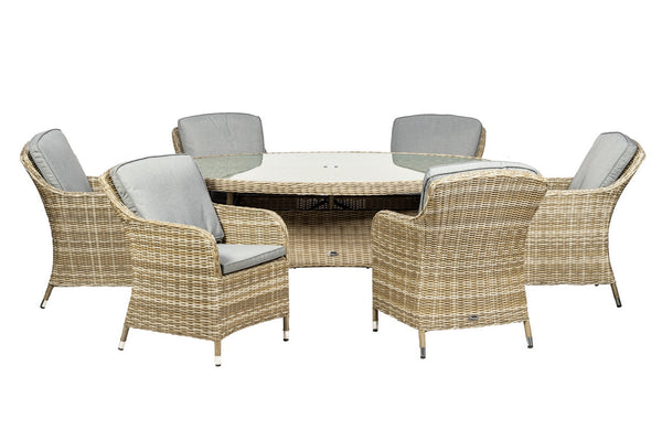 Wentworth Oval Imperial 6 Seater Set