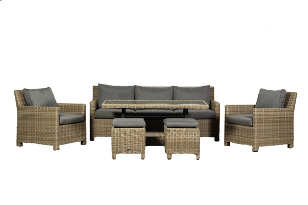 Wentworth Adjustable Sofa Dining Set
