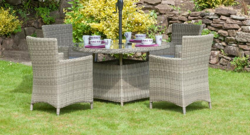 Wentworth Carver 4 Seater Set