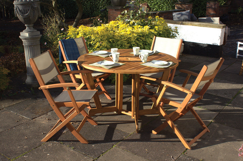 Henley 4 Seater Gateleg Dining Set