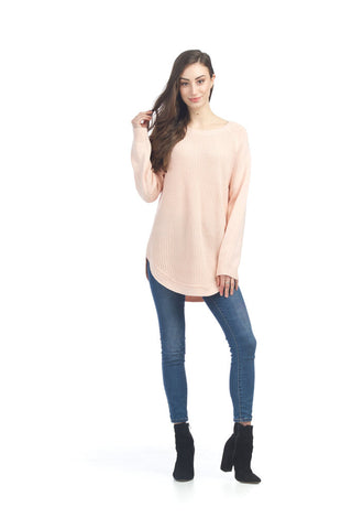 Papillon Blush Pink Knit Sweater