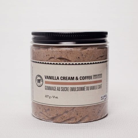 Lamb's Soapwork's Vanilla Cream & Coffee Sugar Body Scrub