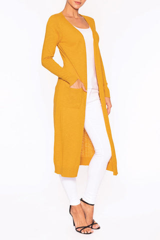 Elena Wang Amber Knit Duster