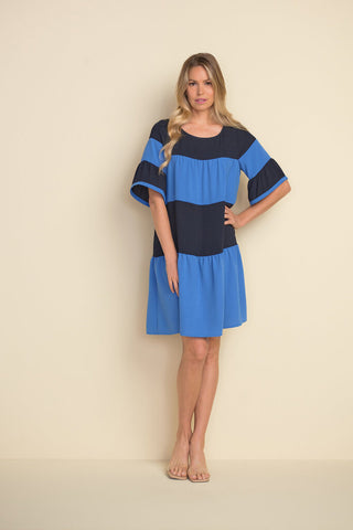 Joseph Ribkoff 212029 Bold Stripe Dress