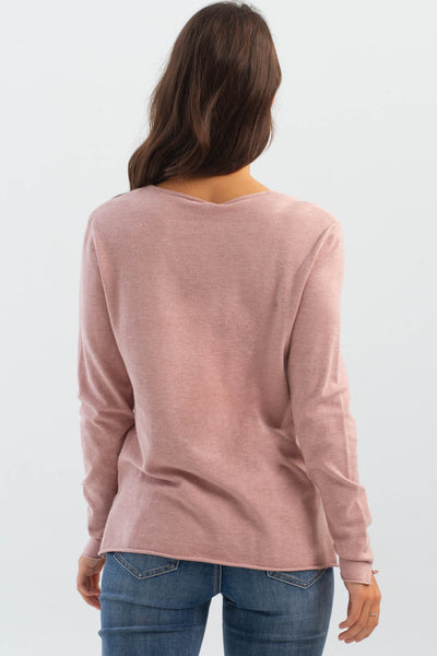 Charlie B Rose V-Neck Sweater