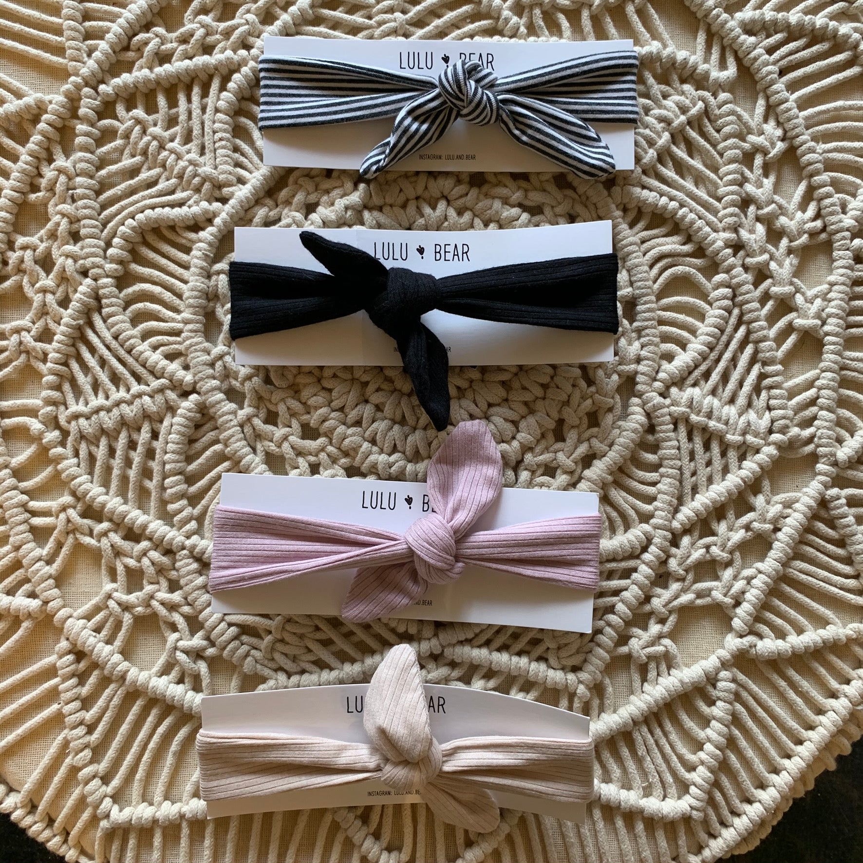 Lulu & Bear Bow Headbands
