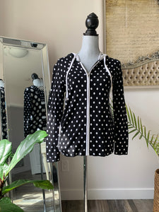 Renuar Reversible Polka Dot Sweater