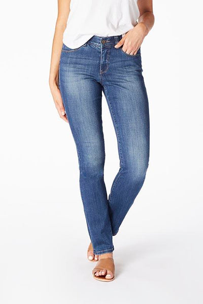 Jag Ruby Straight Leg Jeans - Thorne Blue