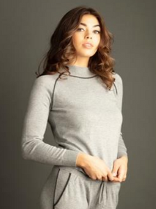 Lemon Cozy Cashmere Top