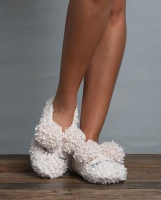 Lemon Lamb Bootie Slippers
