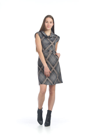 Papillon Plaid Dress