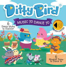 Load image into Gallery viewer, Ditty Bird Music To Dance To Board Book