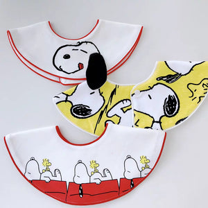 Snoopy Drool Baby Bib With Ear