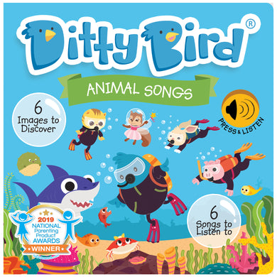 New! Ditty Bird Animal Songs
