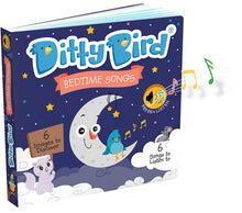 Load image into Gallery viewer, Ditty Bird Bedtime Songs Board Book
