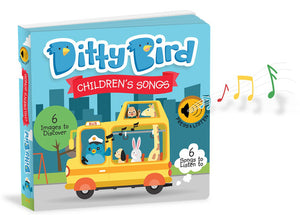 Ditty Bird Children's Songs Board Book