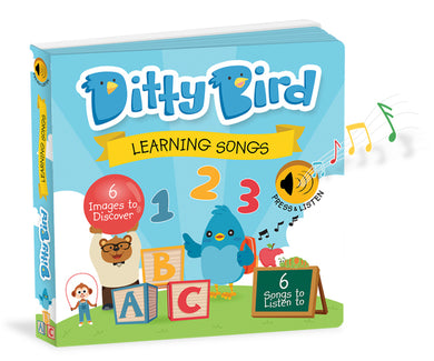 Ditty Bird Learning Songs Board Books