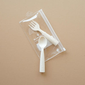 [Pre-Order Early December Delivery] Miniware My First Cutlery Vanilla