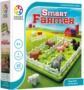 SMART FARMER  This puzzle is fun for all ages.