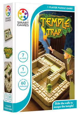 TEMPLE TRAP  Smart Games unique puzzle game