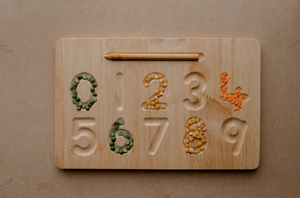 QToys Number Tracing Board