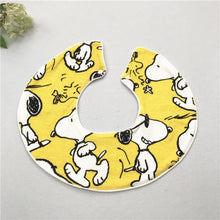 Load image into Gallery viewer, Yellow Snoopy Drool Bib