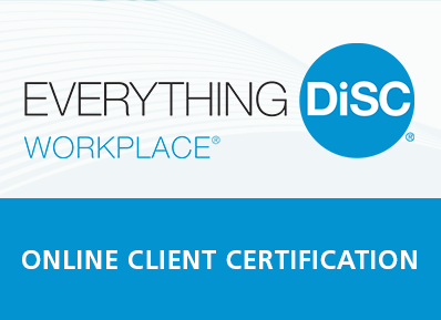 Everything DiSC Workplace® Certification (Online)