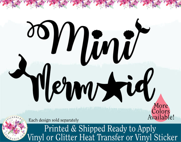 (s198-W) Mini Mermaid