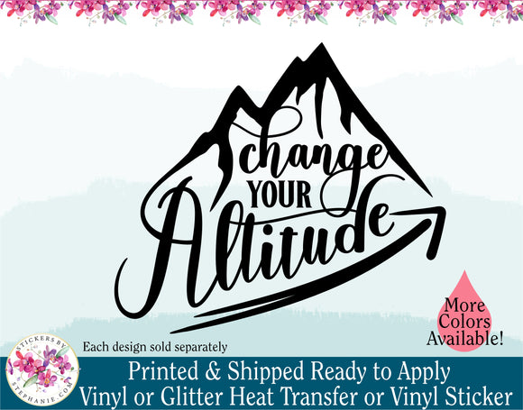 (s228) Change Your Altitude