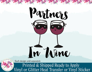 (s310) Partners in Wine