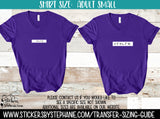 Sizing Guide Help - For Information Only - Ladies Adult S Small V-Neck Shirt Size