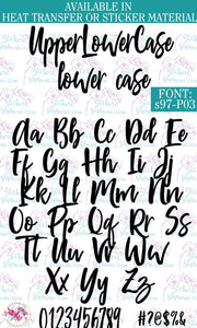 Custom Lettering Name Text  Font: s97-P03 - StickersbyStephanie
