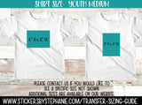 Sizing Guide Help - For Information Only - Youth M Medium 10-12 Shirt Size