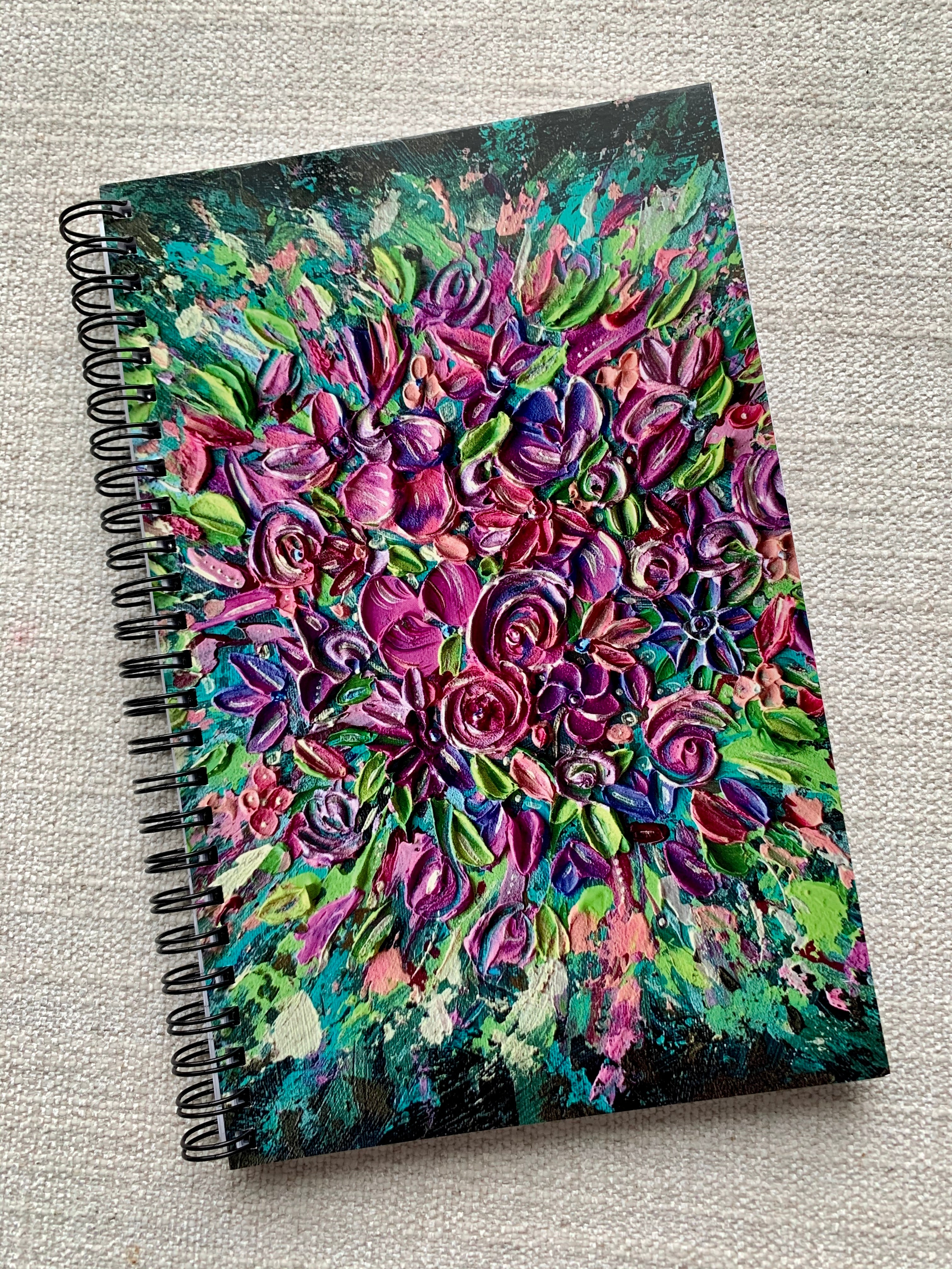 NEW! Notebook - Floral Explosion Lovers
