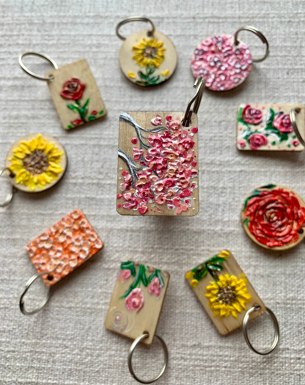 Cherry Blossom Branches | Keychain
