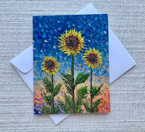 Sunflower Collection | Set of 4 Greeting Cards