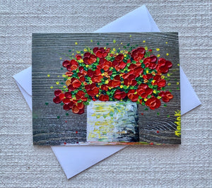 Bouquet Collection | Set of 4 Greeting Cards